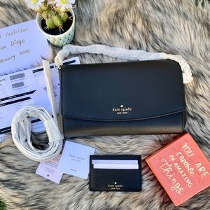 Kate Spade ♠️ Laura Greer Bag & Card Holder Bundle